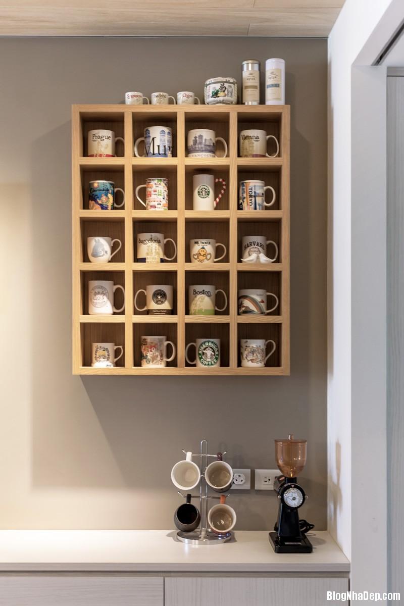 creative kitchen organization Căn hộ hiện đại với chất liệu hoàn toàn từ gỗ