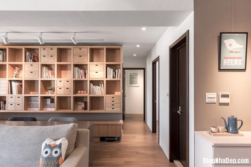 modern living rooms Căn hộ hiện đại với chất liệu hoàn toàn từ gỗ