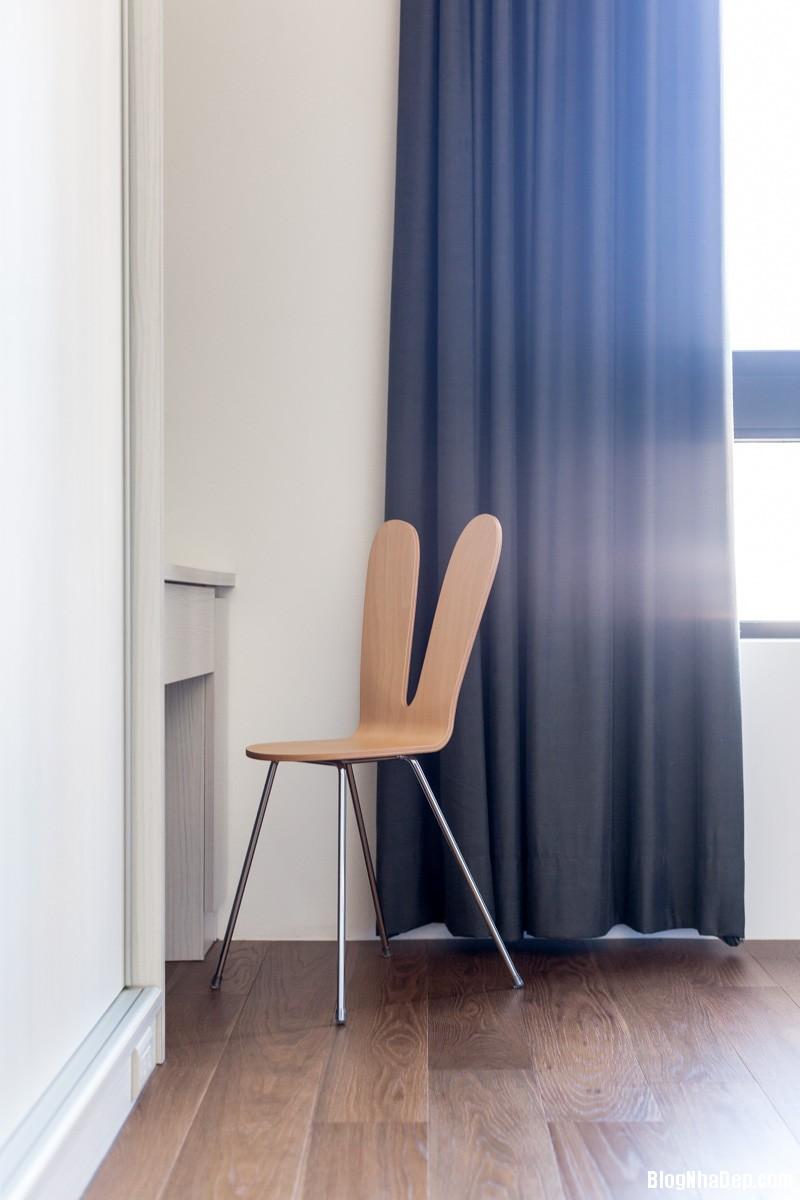 unique wood chair Căn hộ hiện đại với chất liệu hoàn toàn từ gỗ