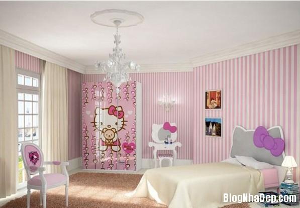 1a2a5b5ae963b81ebd99a3915f7fec5e Những kiểu phòng ngủ trong mơ của các bé gái