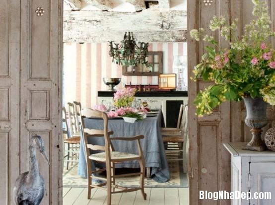 1f38085d16cbecb471511c9e2eb60c39  Phòng ăn đẹp quyến rũ, nhẹ nhàng theo phong cách Pháp