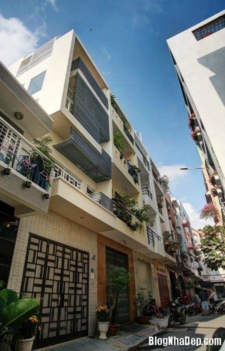 20150323103700431 Mẫu nhà phố 3 tầng thoáng đãng với mặt tiền chỉ 4m