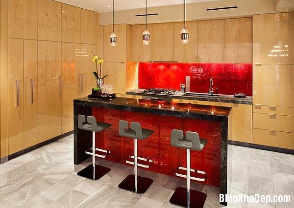 292808827cd56701046b84ffe8303893 Phòng bếp tràn đầy năng lượng với sắc đỏ