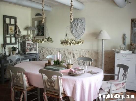 55ebd7390c434467a8a86ccfe63d7341  Phòng ăn đẹp quyến rũ, nhẹ nhàng theo phong cách Pháp