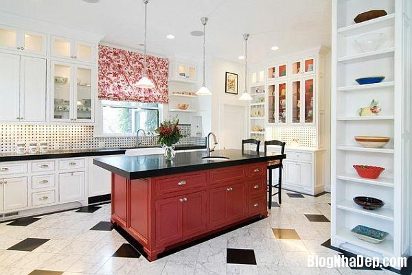 74b3fc59dbfbc6d623abaf48d6ade73e Phòng bếp tràn đầy năng lượng với sắc đỏ