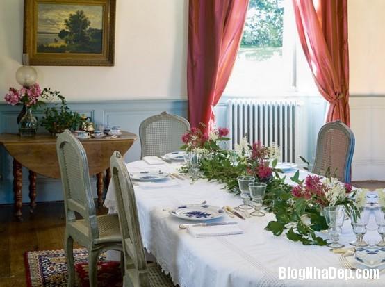 89bcd5c383c8fbfbda7aae01af13ae43  Phòng ăn đẹp quyến rũ, nhẹ nhàng theo phong cách Pháp