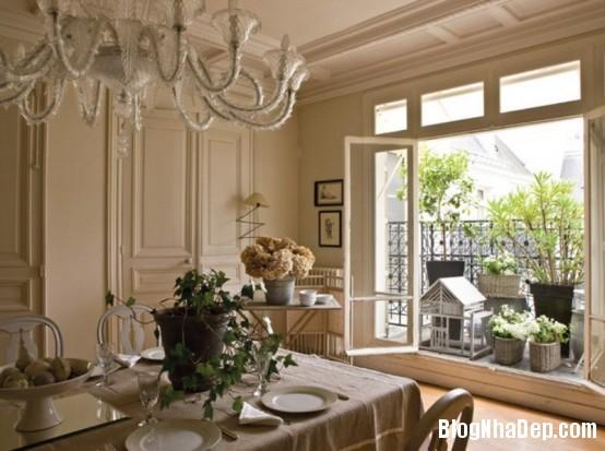 8c09351fea0ce3dca0057a71360f367d  Phòng ăn đẹp quyến rũ, nhẹ nhàng theo phong cách Pháp