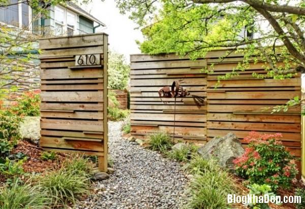 9ed19b5e0e7470fe90b5614242b7843f Ngắm những thiết kế hàng rào bằng gỗ đẹp mắt