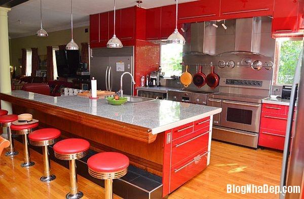 a44d8be9148ce6646bf123a1d1326dcd Phòng bếp tràn đầy năng lượng với sắc đỏ