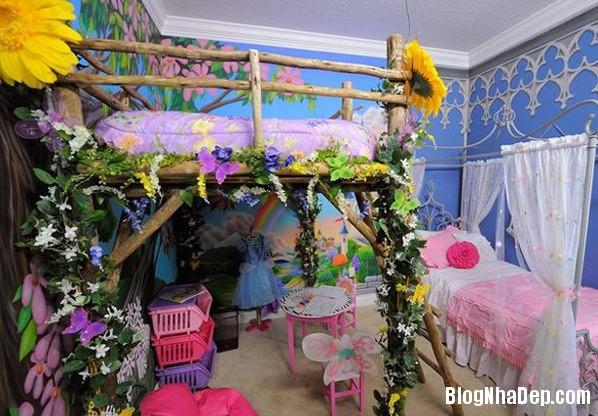 b4796cf29a5cc6ff674632baecc308bd Những kiểu phòng ngủ trong mơ của các bé gái