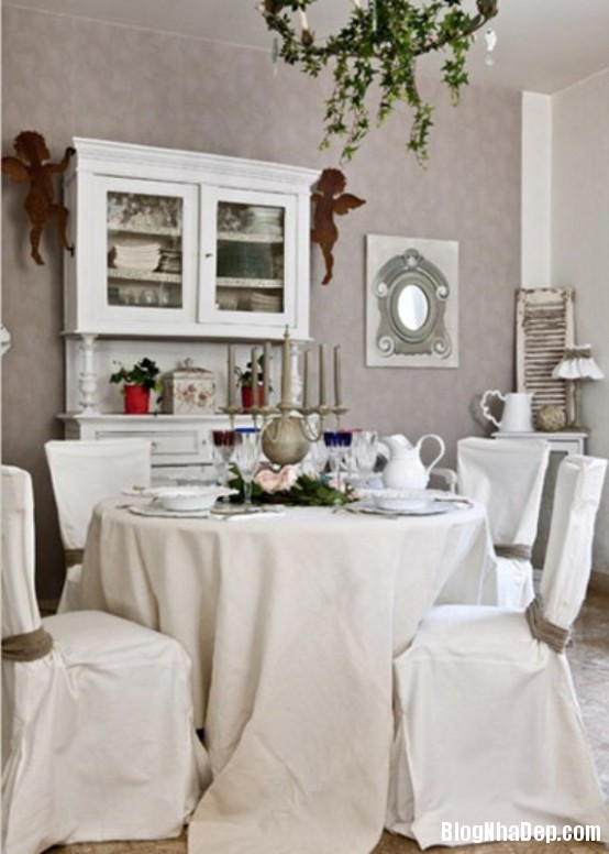e8728d1acb64e4eb081b0ac568050013  Phòng ăn đẹp quyến rũ, nhẹ nhàng theo phong cách Pháp