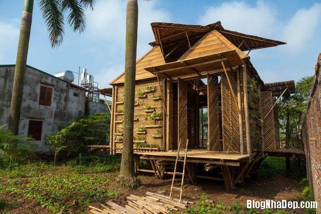 20140424083910517 Ngôi nhà tre 1 tầng với thiết kế chống lụt ở Hà Nội