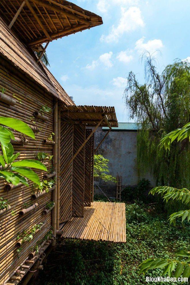 20140424083915555 Ngôi nhà tre 1 tầng với thiết kế chống lụt ở Hà Nội