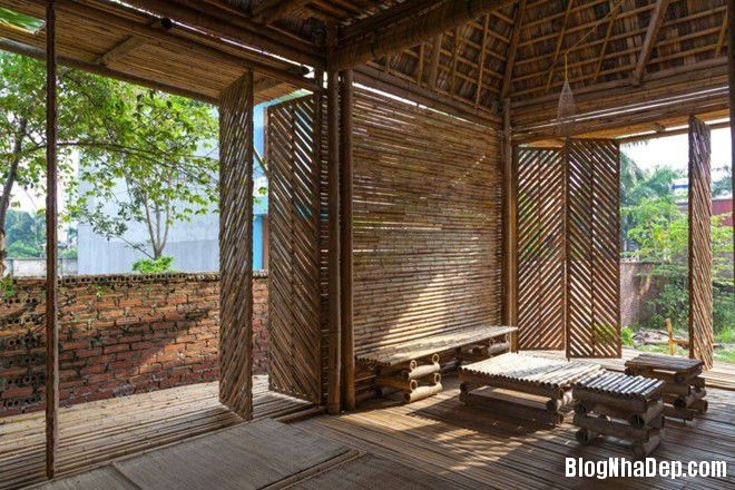20140424083930859 Ngôi nhà tre 1 tầng với thiết kế chống lụt ở Hà Nội