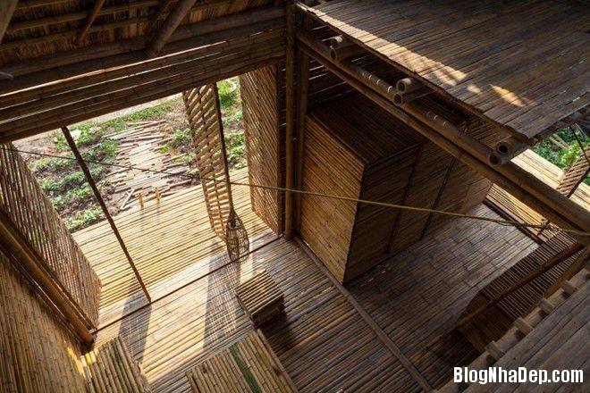 20140424083946131 Ngôi nhà tre 1 tầng với thiết kế chống lụt ở Hà Nội