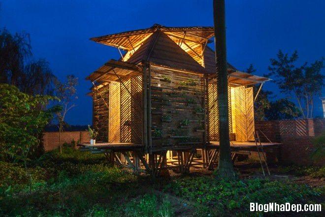 20140424083958299 Ngôi nhà tre 1 tầng với thiết kế chống lụt ở Hà Nội