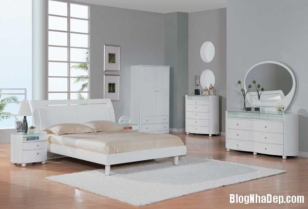 438cda39e05783c0b6410f3a391eb9e7 Phòng ngủ dịu dàng với tông màu trắng