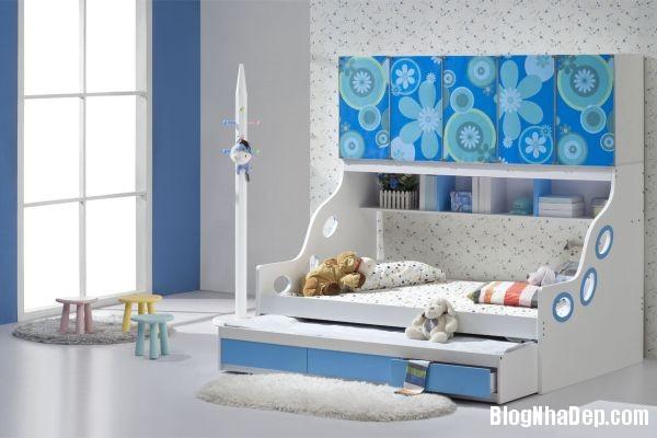 5d368f9de1d8bdb0191add4cd2195f75 Những chiếc giường kéo tiết kiệm không gian trong phòng bé