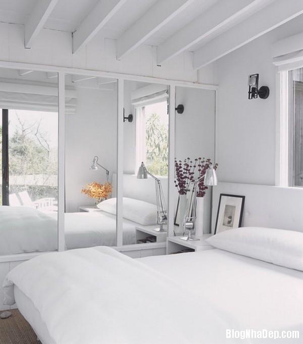 8c968de34a31761828b1a2e5c4398569 Phòng ngủ dịu dàng với tông màu trắng