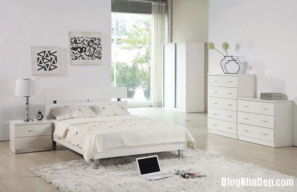 a72c6b7c444e4af9c7720b0c0730f62b Phòng ngủ dịu dàng với tông màu trắng