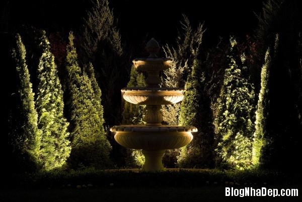 b6dc8fe6d9a55cd846a26840a7772154 Bố trí hệ thống chiếu sáng lung linh huyền ảo cho khu vườn