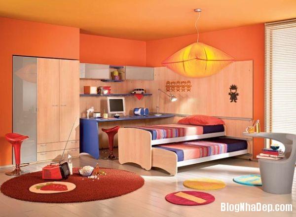 dce96170a32a027efee863160eab5fbd Những chiếc giường kéo tiết kiệm không gian trong phòng bé