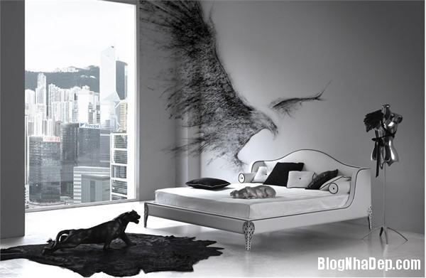 dfe0571baf34f246adc80791ce74c0e1 Phòng ngủ dịu dàng với tông màu trắng