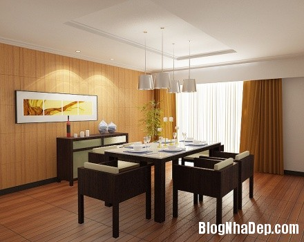 29b3dadfc74c64bd544e37c4176bb5a6 Ý tưởng thiết kế phòng ăn hiện đại