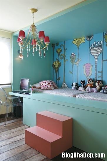 71ee936a0c3d13541475dad47698bb77 Phòng cho bé yêu với sắc màu sinh động và xinh xắn