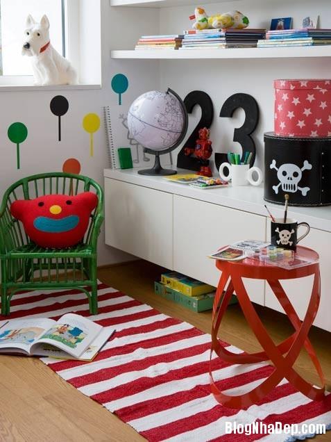 79d4cc2602d4f6b3c99cee1686159e09 Phòng cho bé yêu với sắc màu sinh động và xinh xắn