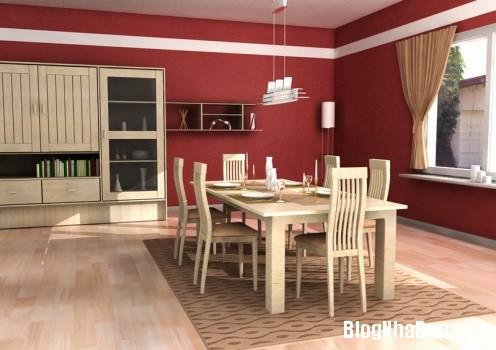 7dd15f893e0ba6454ce9b6c83ceb8327 Ý tưởng thiết kế phòng ăn hiện đại