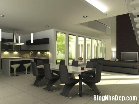 9e84e8f9a328157f6355859bf87b85b1 Ý tưởng thiết kế phòng ăn hiện đại