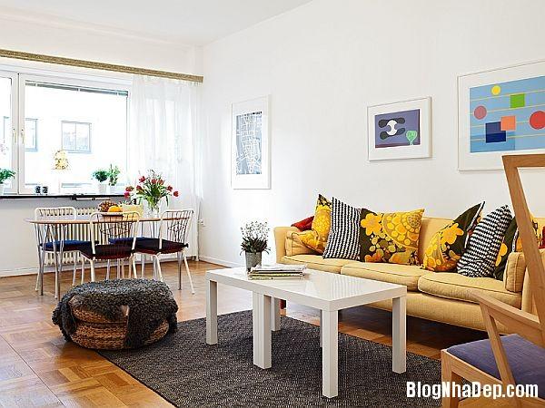 An tuong can ho 56 m2 o Gothenburg 1 Căn hộ xinh đẹp chỉ 56 m2 tại Thụy Điển