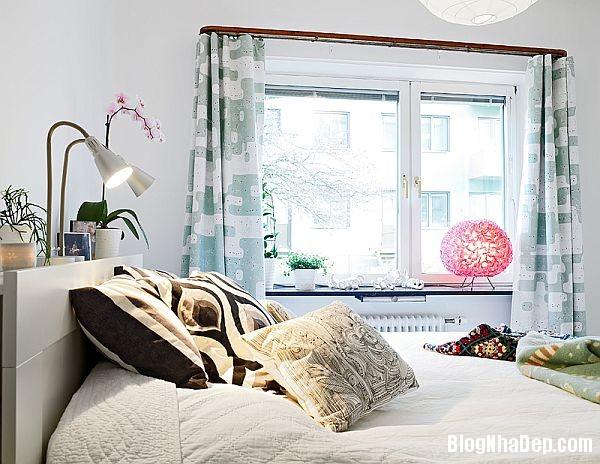 An tuong can ho 56 m2 o Gothenburg 2 Căn hộ xinh đẹp chỉ 56 m2 tại Thụy Điển