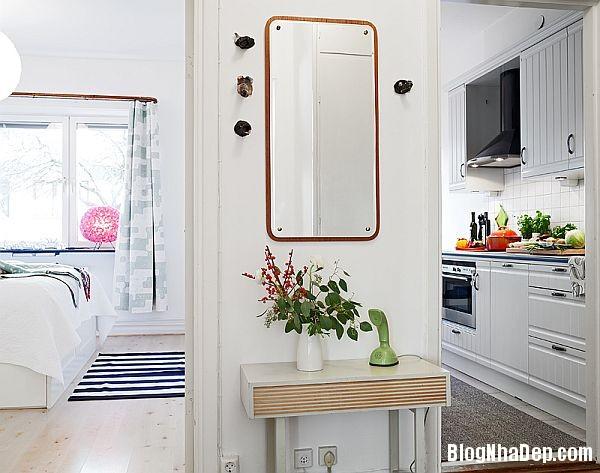 An tuong can ho 56 m2 o Gothenburg 4 Căn hộ xinh đẹp chỉ 56 m2 tại Thụy Điển