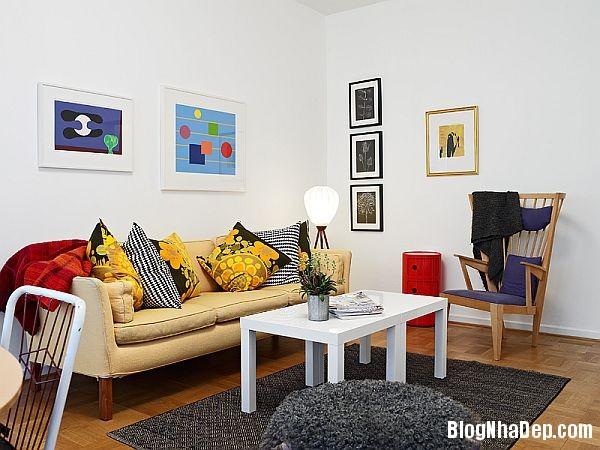An tuong can ho 56 m2 o Gothenburg 6 Căn hộ xinh đẹp chỉ 56 m2 tại Thụy Điển