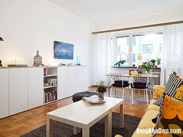 An tuong can ho 56 m2 o Gothenburg 7 Căn hộ xinh đẹp chỉ 56 m2 tại Thụy Điển