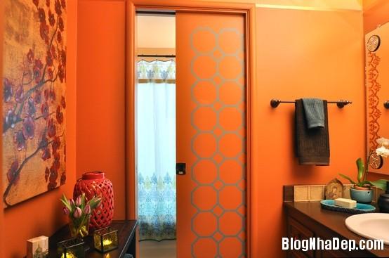 300f3d41e8dd969eb6ae7f9dcd2e4805 Phòng tắm rực rỡ và quyến rũ với gam màu cam