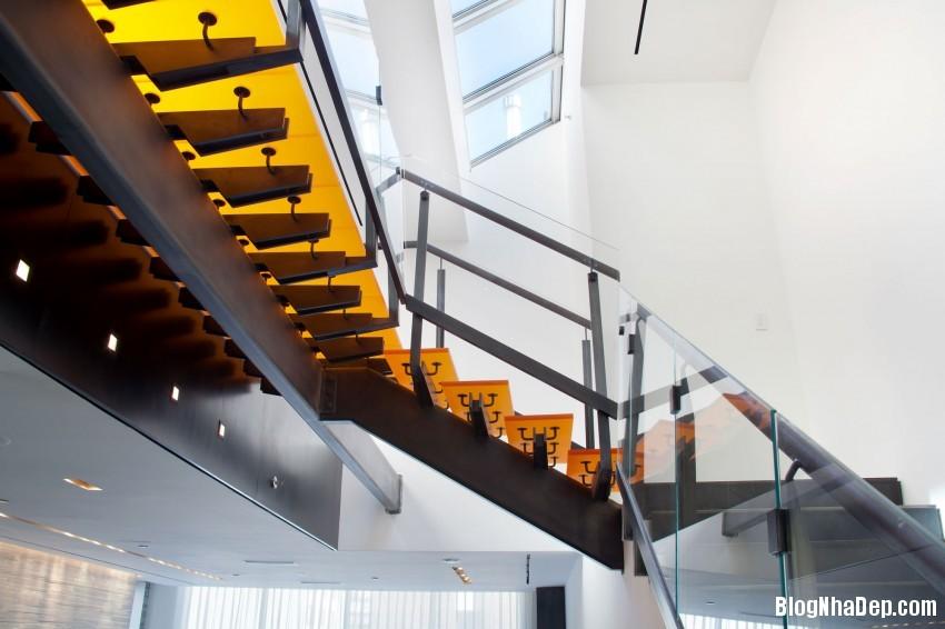 73rd St Penthouse 04 850x566 Căn hộ penthouse sang trọng ở Thụy Sỹ