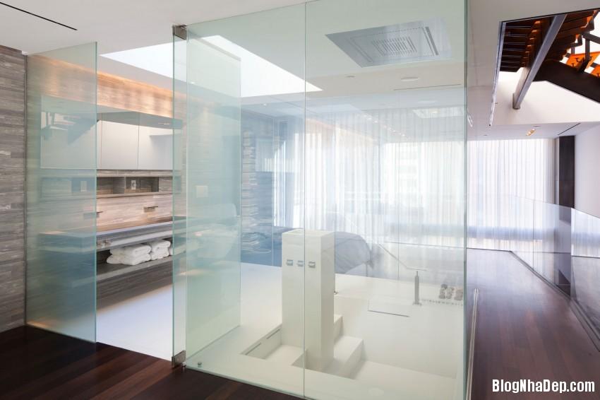 73rd St Penthouse 13 850x566 Căn hộ penthouse sang trọng ở Thụy Sỹ