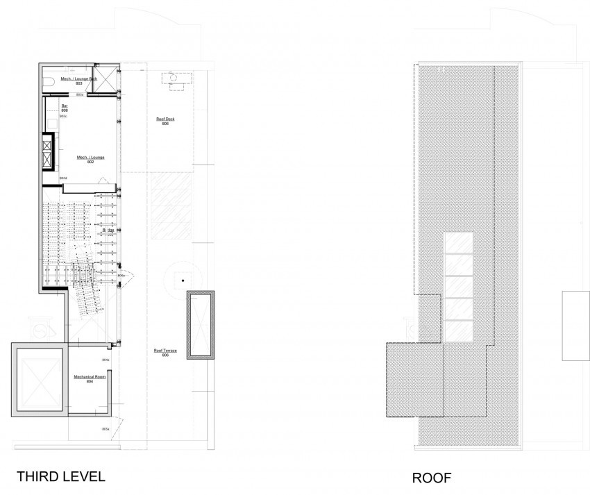 73rd St Penthouse 20 850x713 Căn hộ penthouse sang trọng ở Thụy Sỹ