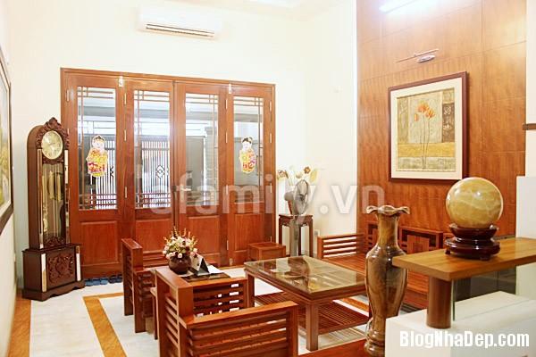 903 Ngôi nhà đậm chất Á Đông với nội thất gỗ