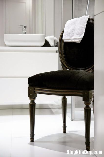 Bathroom Details18 Căn hộ penthuose sang trọng với gam màu trắng