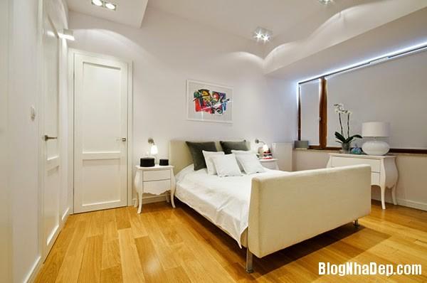 Bedroom Details141 Căn hộ penthuose sang trọng với gam màu trắng