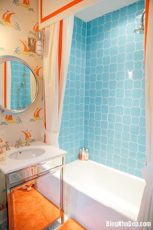 a4255c70ad14fa757a993f604327c491 Phòng tắm rực rỡ và quyến rũ với gam màu cam