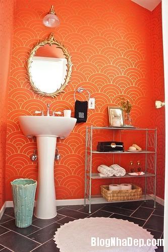 ca8231c690386a67fcfda604b147cd93 Phòng tắm rực rỡ và quyến rũ với gam màu cam