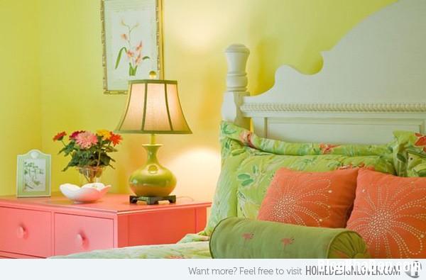 140c012b8b8eff2ead8f0207b8f2e1ed Phòng ngủ nổi bật với gam màu vàng