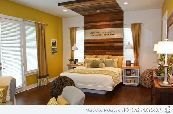 1b8e2763586ca0e0c6464febadf8a632 Phòng ngủ nổi bật với gam màu vàng