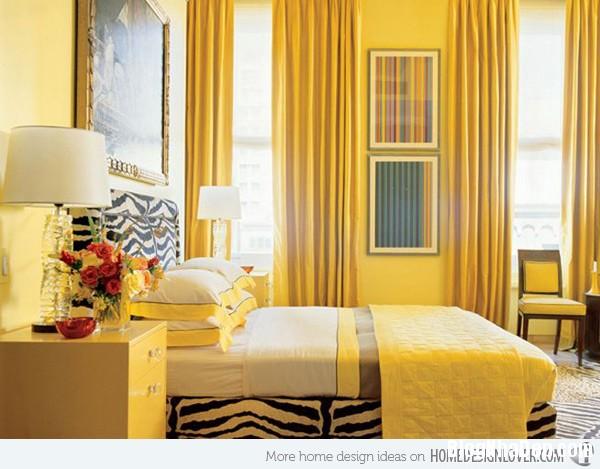 5d47502ffd02d4268092d303d11ac026 Phòng ngủ nổi bật với gam màu vàng
