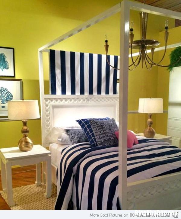 83e80ee092f3522c688bf72d95cee627 Phòng ngủ nổi bật với gam màu vàng